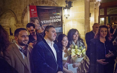 "A new circle of the ""culture circulation""... Maxim Vengerov's debut at the Malta International Music Festival. 